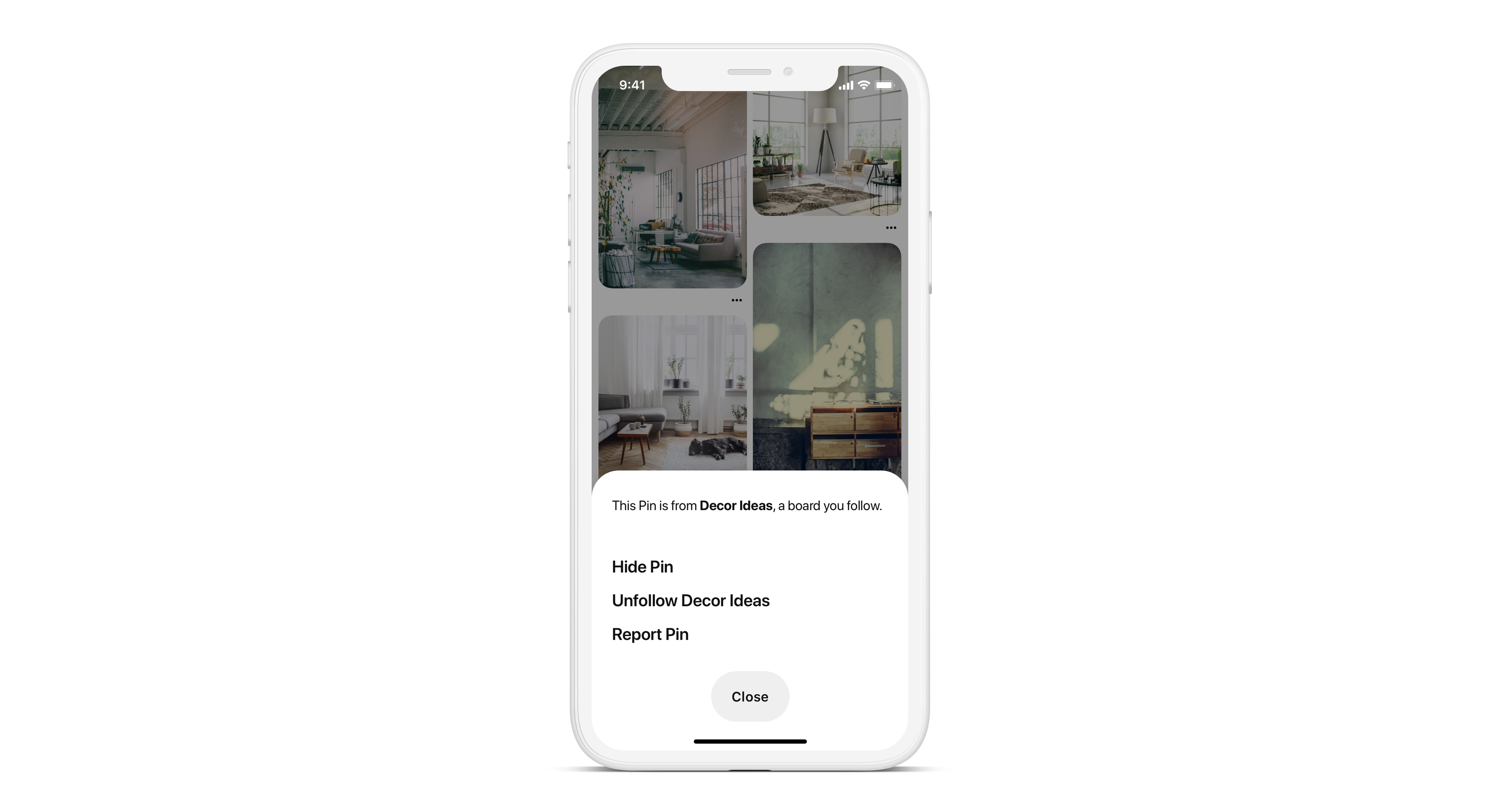 Pinterest Gives Users More Control Over Content on Their Home Feed