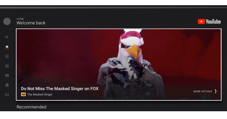 Google Makes YouTube Masthead Ads on TVs Available to All Advertisers