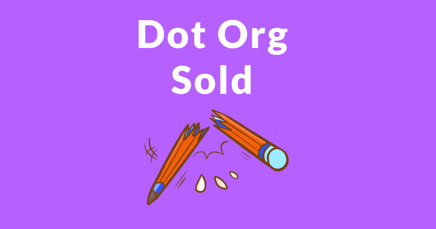 Dot Org Registry Sold to an Investment Firm