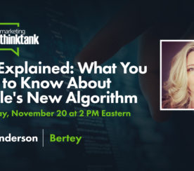 BERT Explained: What You Need to Know About Google's New Algorithm [Webinar]