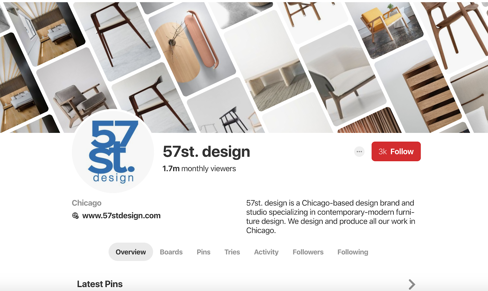57st. design on Pinterest