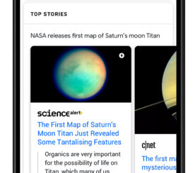 Google Begins Using BERT to Generate Top Stories Carousels in Search