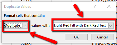 Click on Highlight Cells Rules
