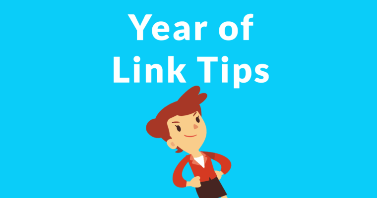 A Year of Link Building Tips