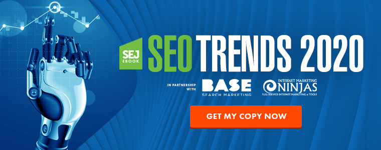 SEO Trends 2020 Ebook - Download Banner