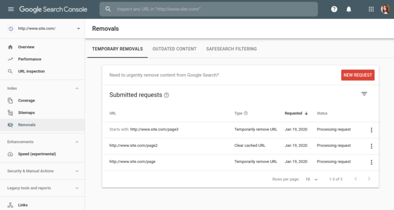 Google Makes it Possible to Temporarily Remove Sites From Search Results