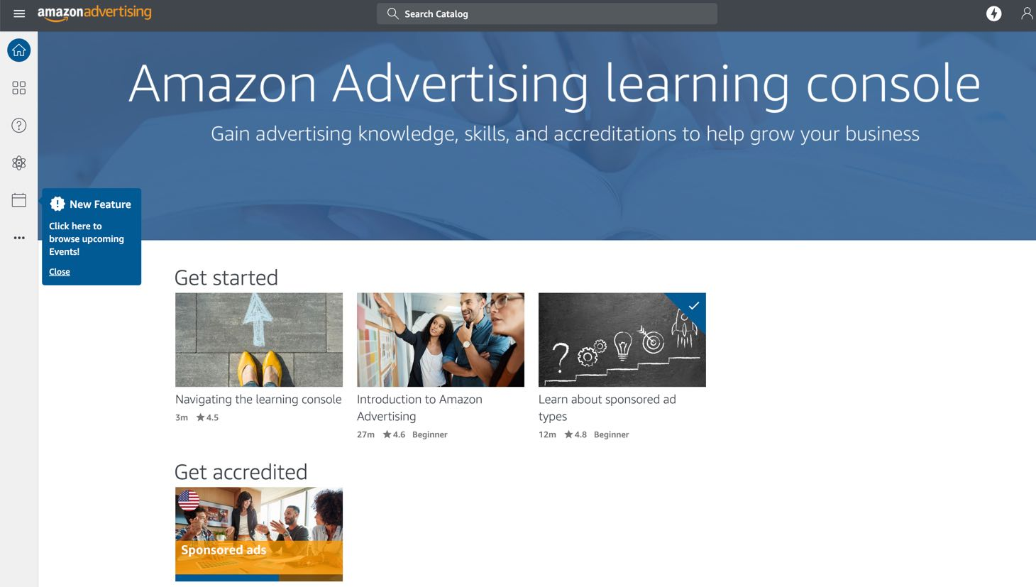 Amazon Learning Console