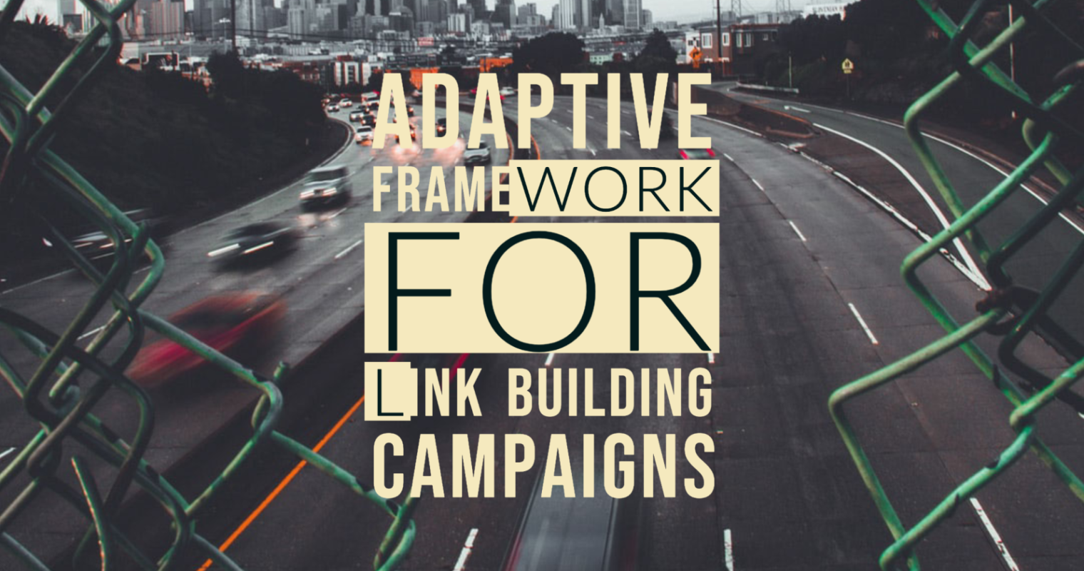 An Adaptive Framework for Link Building Campaigns