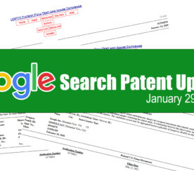 Google Search Patent Update – January 29, 2020