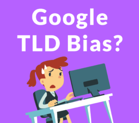 Is Google Biased Toward Some Top Level Domains?