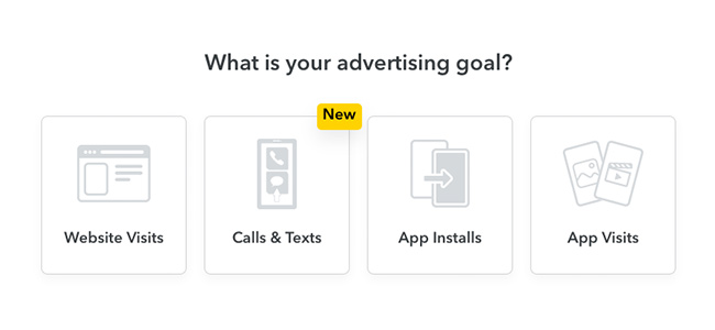Snapchat's New Ad Unit Prompts Users to Call or Text Businesses