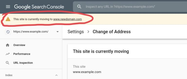 Google Search Console Has New Tools to Help With Site Moves