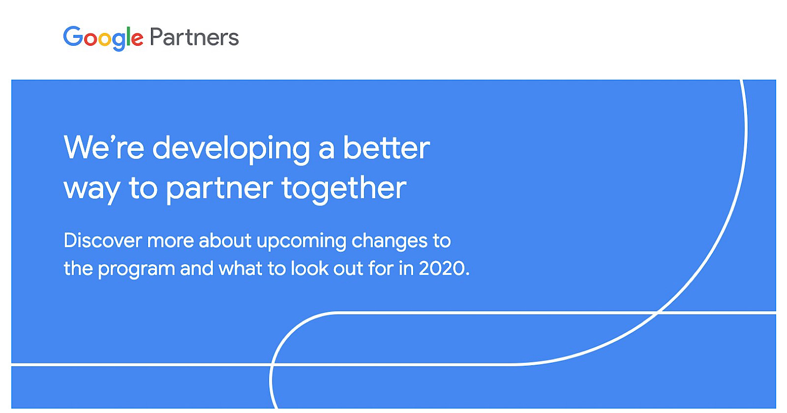 Google Partners changes