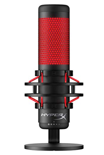 HyperX Quadcast microphone