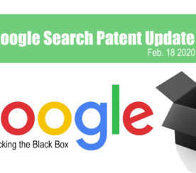 Google Search Patent Update – February 18, 2020