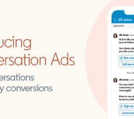 LinkedIn Introduces Conversation Ads: A New Message-Based Ad Format