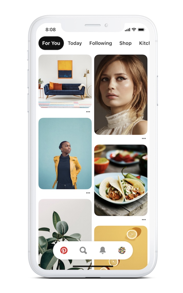 Pinterest Introduces 'Today' Tab With Focus on COVID-19 Related Content