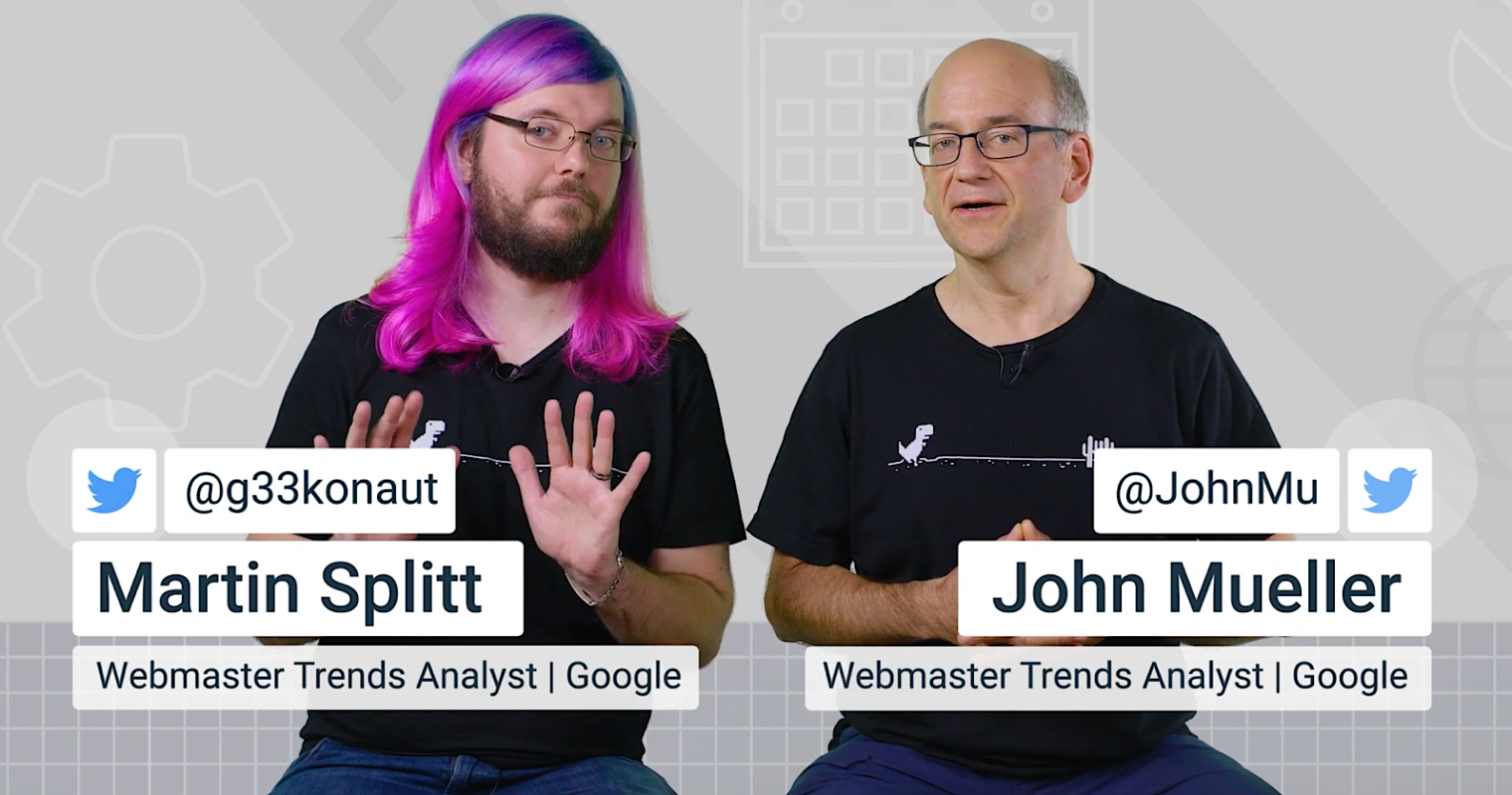 Google's John Mueller & Martin Splitt Answer JavaScript SEO Questions