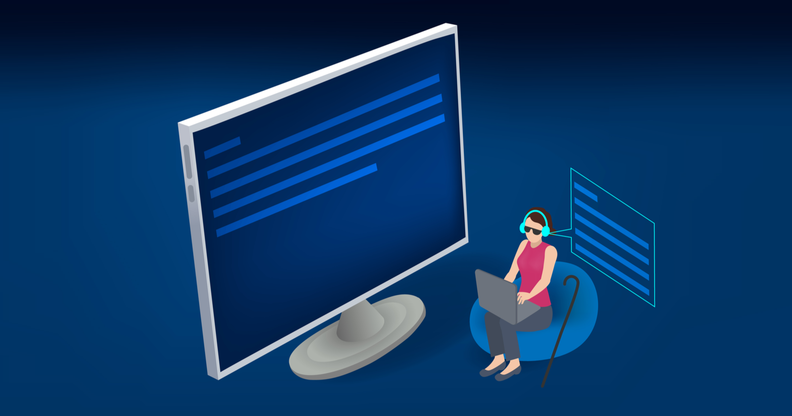 Accessibility for Digital Businesses: How Your Company Can Be a Leader via @kim_cre8pc thumbnail