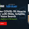 SEO After COVID-19: How to Recover with FAQs, Schema, AMP & Voice Search