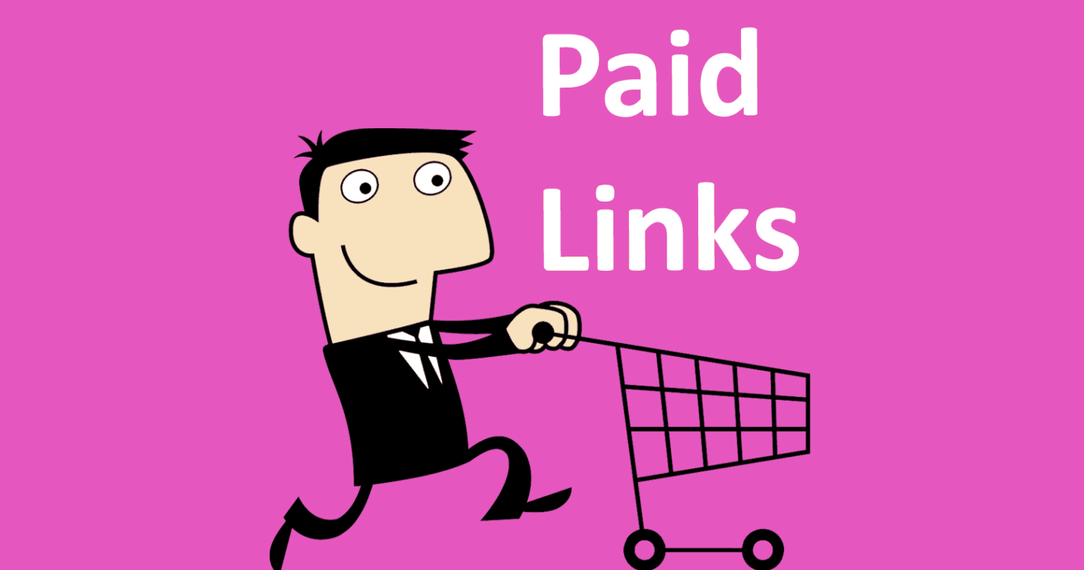 Google Says Paid Links Don't Work