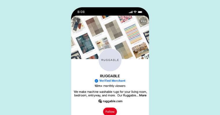 Pinterest Launches Verified Merchant Program With Applications Open to All