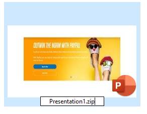 rename PPT extension