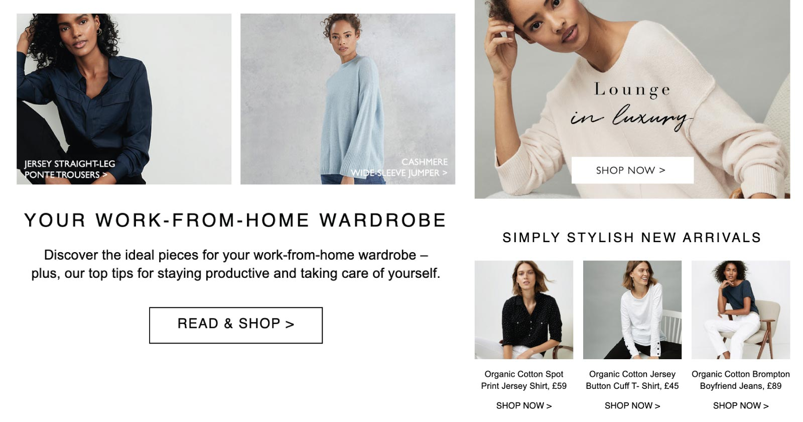 Getting Your Brand Message Right in Times of Crisis - The White Company