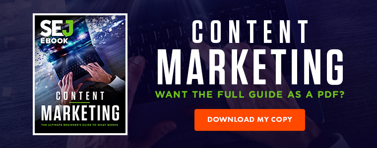 Download Banner - Content marketing guide