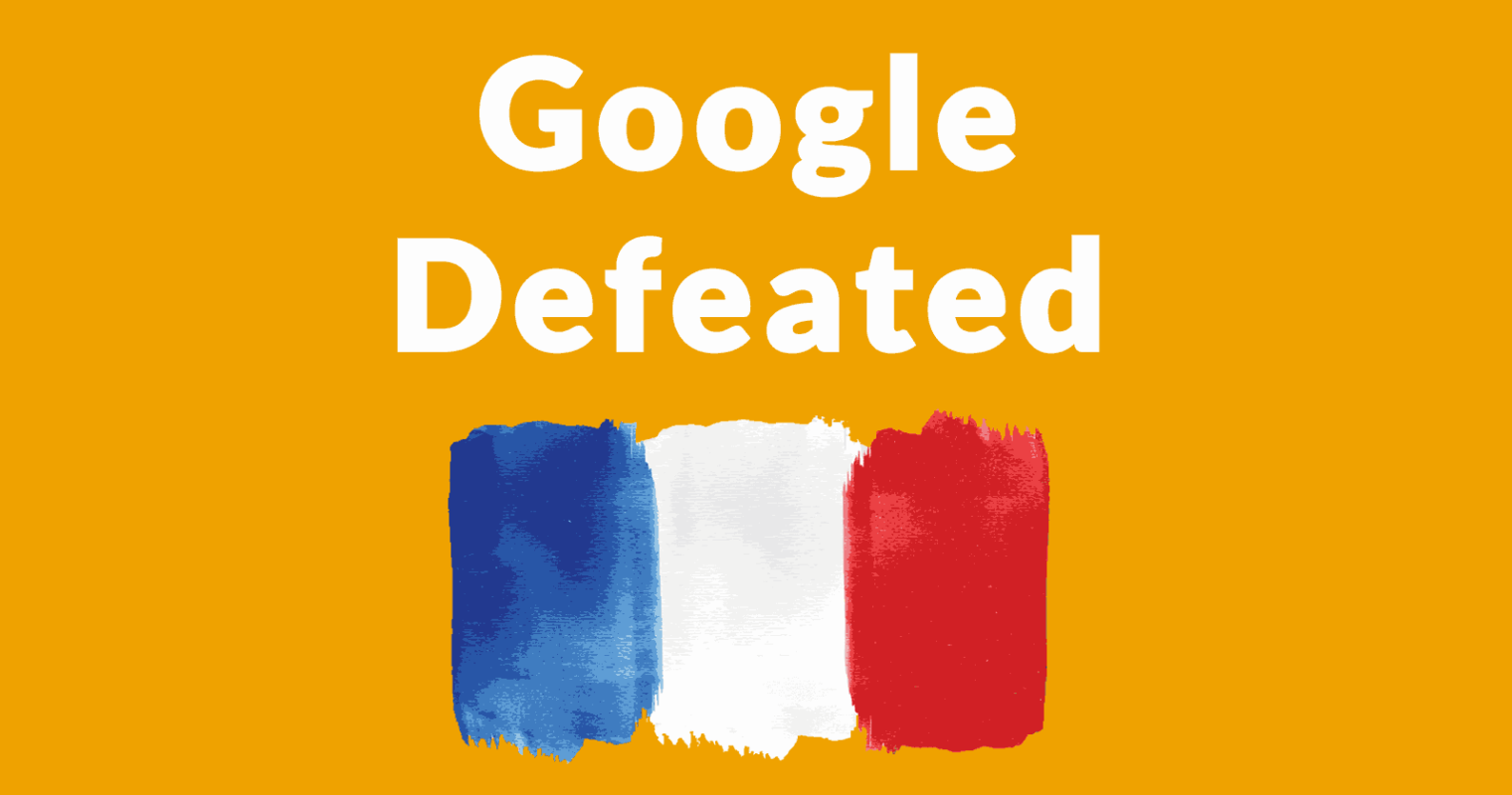 Google Suffers Major Defeat – Must Pay French Publishers