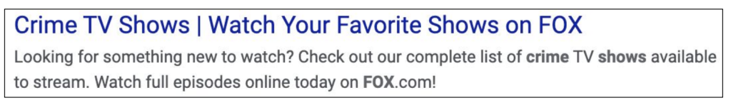How FOX.com optimizes for branded search traffic [CASE STUDY]
