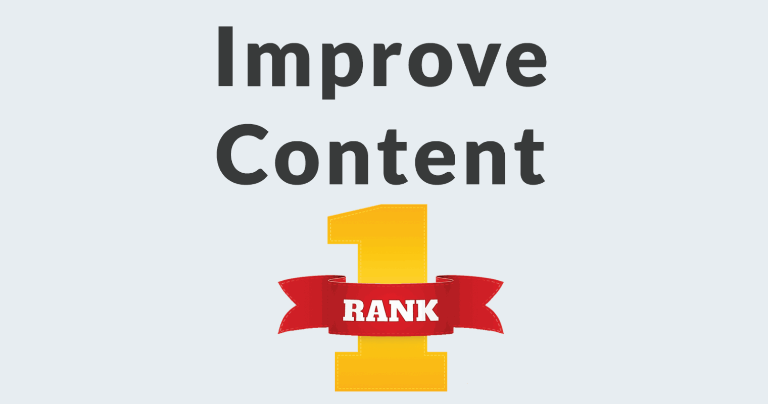 Three Simple Ways to Improve Content