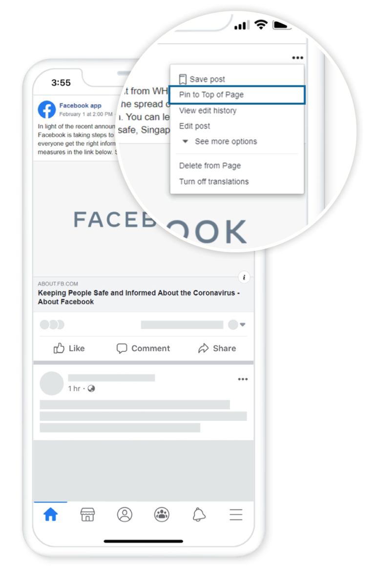 Facebook Helps Businesses Respond to the Impact of COVID-19