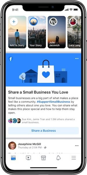 Facebook & Instagram Add More Ways to Support Local Businesses