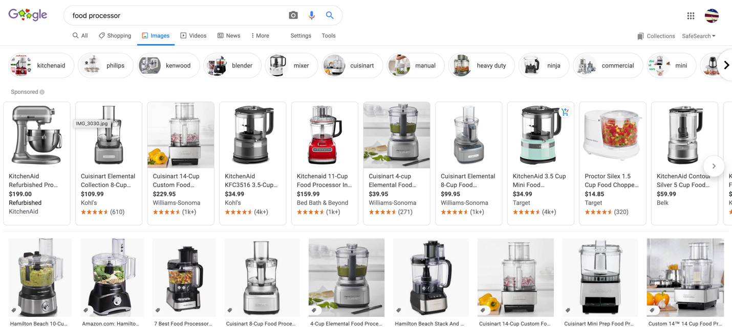 food processor google image search