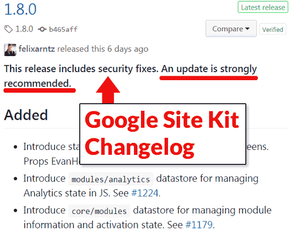 Google Site Kit Plugin Vulnerability