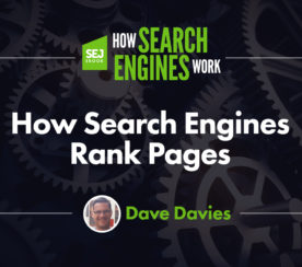 How Search Engines Rank Pages