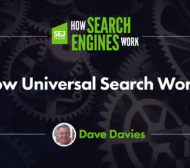 How Universal Search Works