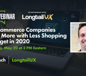 How Ecommerce Companies Can Do More with Less Shopping Ad Budget in 2020 [Webinar]