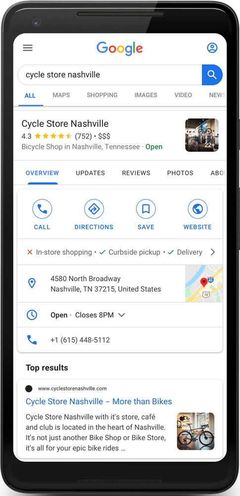 Google Ads Beta Testing Curbside Feature Pickup in Shopping