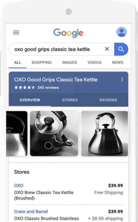 Google Shopping Ads Are Free to Display in Main Search Results