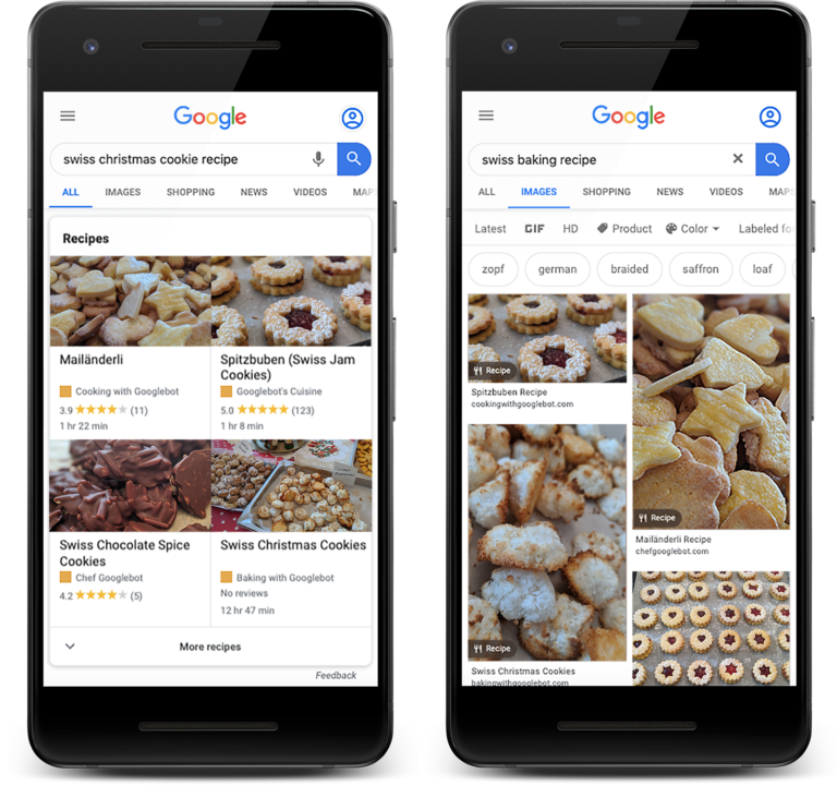 Google Search Console Adds New Data for Recipe Structured Data