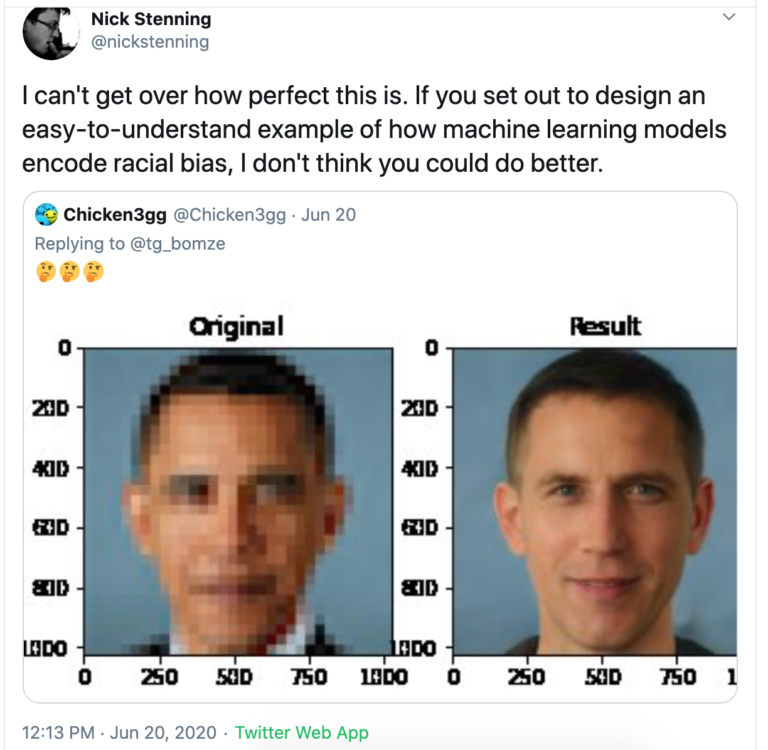 facial recognition machine learning