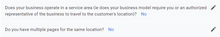 Storefront Questions