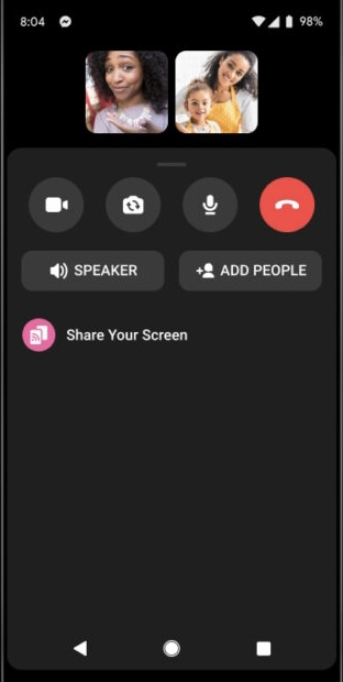 How to do Screen Sharing on Facebook Messenger