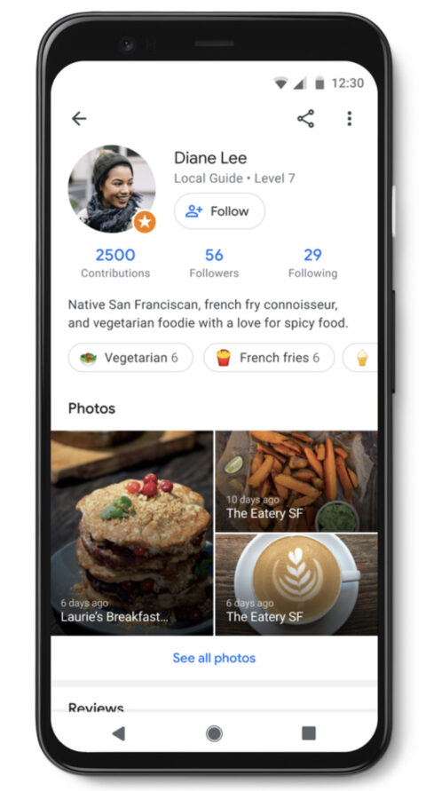 Google Maps Goes Social Giving Each User Their Own Profile