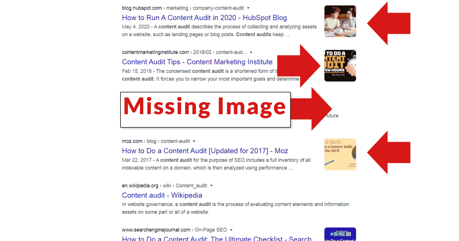 Google Testing Thumbnail Images in Search Results
