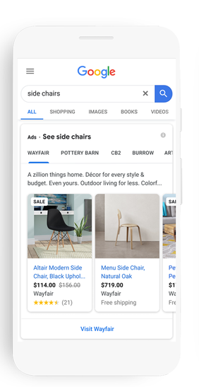 Google Adds Increased Visual Options for Shoppers and Brands
