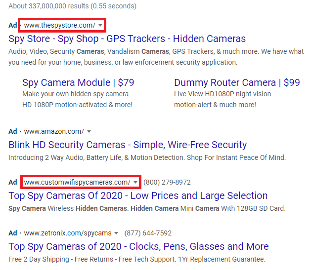 Google Ads to Ban Spying Products & Software