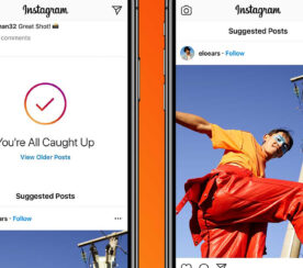 Instagram is Adding Suggested Posts to the Main Feed